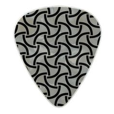 Abstract pattern design pearl celluloid guitar pick - trendy gifts cool gift ideas customize