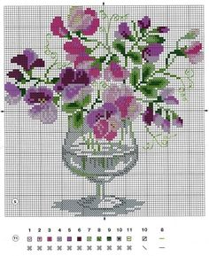 Gallery.ru / Фото #65 - вышивка цветы 3 - semynova