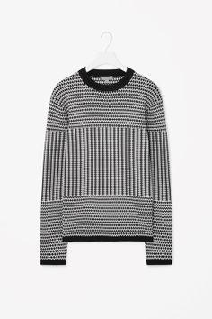 Graphic print jumper
