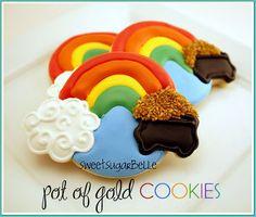 Pot of Gold Cookies: Tutorial