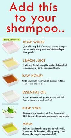 diy beauty tip for healthy happy hair