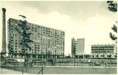 Antwerpen-Kiel - Residentie Alfred Cools en speeltuin Multi Story Building, Louvre, Travel, Historia, Kiel, Nostalgia, Viajes, Destinations, Traveling