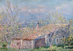Maison de jardinier à Antibes (C Monet - W 1165),1888.