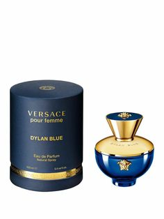 Versace 130693 Dylan Blue Oz Eau de Parfum Spray for sale online Parfum Blue, Blue Perfume, Perfume Bottles, Versace Gifts, Cheap Perfume, Essential Oil Perfume, Perfume Collection