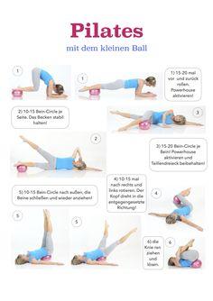 Pilates mit dem kleinen Ball!