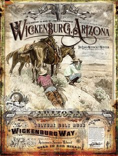 Wickenburg, Arizona Historical Poster