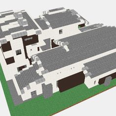 Minecraft Modern House Blueprints Layer By Layer | ideas ...