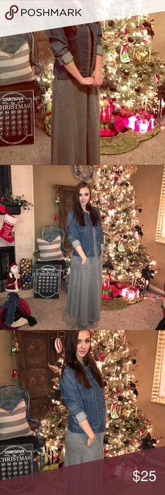 Grey maxi dress Cute comfy maxi dress Express Dresses Maxi