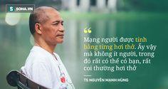 """""""Rất nhiều người đang ngủ sai giờ. Họ không biết đường tới nghĩa địa dần ngắn lại"""" - TS Nguyễn Mạnh Hùng"""