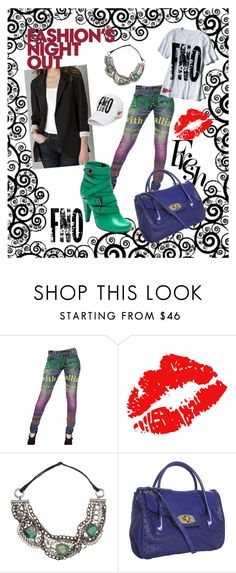 Passion by kelsjax on Polyvore featuring Galliano, Mulberry, Furla, Dauphines of New York, Fashion's Night Out, ru_glamour doutzen kroes, fashion's night out fashionsnightout.com, postman's lock ankle boot oak soft matte mulberry.com, furla acai perforated leather 'ardith' large convertible bag bluefly.com and fashion's night out nisex baseball cap fashionsnightout.com. CONTEST OVER - This fashion is for the rocker chic, youthful, upbeat and hip. The color is bold and dramatic choices by…