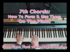 7th Chords: How To Form & Play Them On The Piano