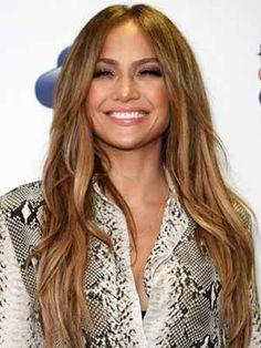 Jennifer Lopez - hair color / highlights