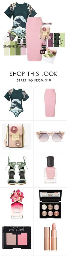 """""""In Spring we Trust"""" by claire86-c on Polyvore featuring moda, Lenny, Roland Mouret, MICHAEL Michael Kors, Jimmy Choo, TIBI, H&M, Deborah Lippmann, Marc Jacobs e Witchery"""