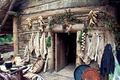 Medieval Slavic cottage in Biskupin, Poland © Magdalena Ow Photography.