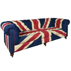 The Bensington 3 Seater Sofa (Union Jack) - 3 Seater Sofa - Timothy Oulton