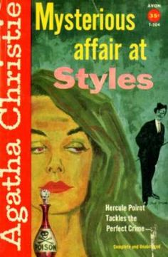 The Mysterious Affair at Styles by Agatha Christie.  Avon edition