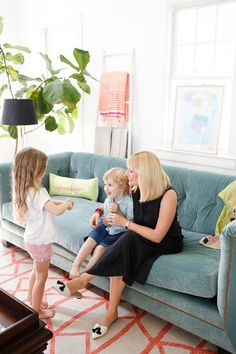 Tufted Sofa  ||  Look Linger Love