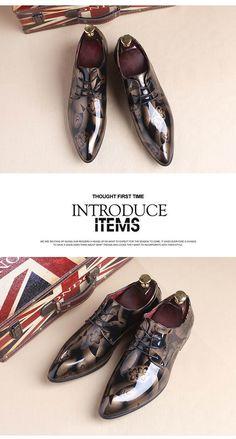 Luxury Fashion Men Oxford Breathable Shoes 868374ea4c41