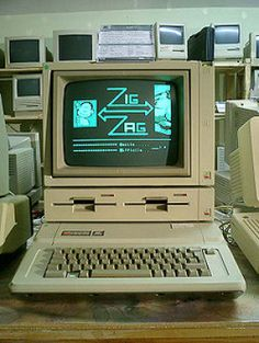 """ummm...totally remember practicing my typing skills on one of these, along with real """"floppy"""" disks!"""