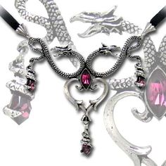 Alchemy Gothic The Laidly Wyrm Pendant Necklace [P535] - $69.00 : Mystic Crypt, the most unique, hard to find items at ghoulishly great prices!