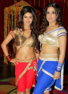 Beautiful Mahi Gill and Meera Chopra Sexy Navel Show