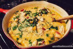 Csicseriborsós Csirke Curry