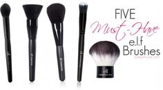 5 Must-Have Elf Brushes \\ www.livelearnluxeit.com