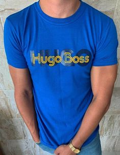 Hugo Boss, Graphic Design, Mens Tops, T Shirt, Outfits, Beauty, Fashion, Cartoon, T Shirts