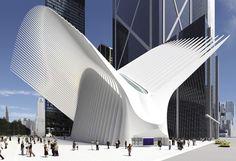 Santiago Calatrava-designed World Trade Center Transportation Hub