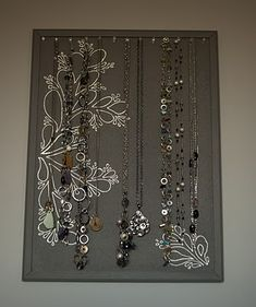DIY Jewelry Display Board