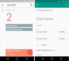 """""""Android L's app design—early looks at YouTube, Gmail, Maps, and more"""" –Ron Amadeo, via Ars Technica"""