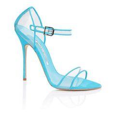 Manolo Blahnik Spring/Summer 2013 Shoes ❤ liked on Polyvore featuring shoes and heels #manoloblahnikheelsspringsummer