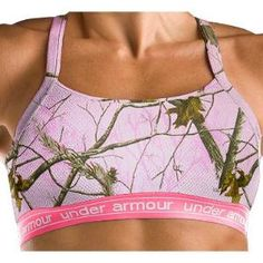 Camo bra; for really hot days working outside--AT HOME.  --Under Armour\u00C2\u00AE Women\'s Camo Mesh Bra, Women\'s Active Tops, Women\'s Activewear Clothing, Women\'s Clothing, Clothing : Cabela\'s