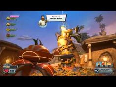 Plants vs Zombies Garden Warfare 2 solo gameplay the flag