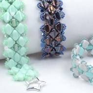 #PDF-194 - Five of Diamonds Bracelet Project by Laura Graham