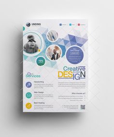 This corporate flyer is designed in Photoshop. The files included are help file and Photoshop PSD's. All PSD files are very well organized flyer templates. Corporate Design, Graphic Design Flyer, Web Design, Creative Flyer Design, Design Logo, Creative Flyers, Graphic Design Templates, Corporate Flyer, Print Templates