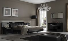 CONTEMPORARY DECORATING IDEAS: TRANSFORMING HOW MODERN BEDROOMS AND LIVING ROOMS LOOK : Elegant Contemporary Decorating Ideas With Crystal C...