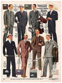 Wediquette and Parties: The Roaring 20's are Making a Comeback! Male fashion & party ideas!