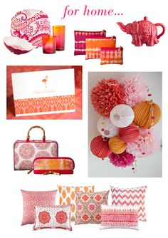 Feelin' It: Pink & Orange Boho - Erika Brechtel