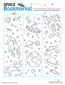 Solar System Bookmark Printable - Pics about space