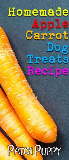 You want the best dog treats for your pup. If they love apple or carrot, then this recipe is just perfect for you. Your dog will drool for these simple, easy to bake treats! Best Treats For Dogs, Diy Dog Treats, Healthy Dog Treats, No Bake Treats, Puppy Treats, Dog Biscuit Recipes, Dog Treat Recipes, Dog Food Recipes, Food Dog