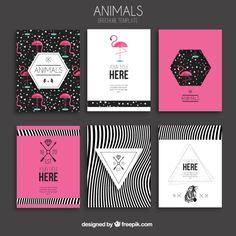 Animais brochuras