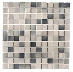 Rockface 25x25mm Landscape Mosaic Tile | Topps Tiles