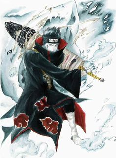 Naruto Shippuden Quotes added a new photo. Naruto Uzumaki, Sasori And Deidara, Naruto Anime, Naruto Art, Anime Manga, Kakashi Sharingan, Gaara, Akatsuki, Wallpapers Naruto