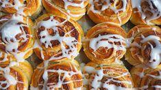 Vaniljeboller i form – Ida Gran-Jansen I Want To Eat, Doughnut, Vanilla, Baking, Sweet, Buns, Food, Bread Making, Patisserie
