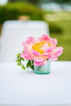 #peony  Photography: Justin & Mary - justinmarantz.com  Read More: http://www.stylemepretty.com/2014/12/01/floral-covered-wedding-in-rockport-maine/