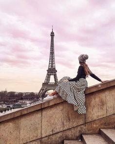 """Gefällt 4,309 Mal, 209 Kommentare - Michèle Krüsi (@thefashionfraction) auf Instagram: """"when Paris serves the most picture perfect sky """""""
