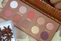 Review of Zoeva Caramel Melange Eyeshadow Palette