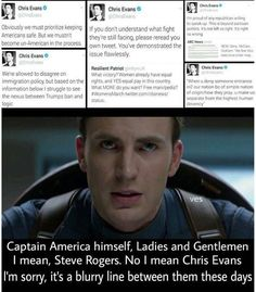 The real life captain america guys << Chris Evans IS Steve Rogers/Cap, here's your proof :) Marvel Captain America, Chris Evans Captain America, Marvel Memes, Marvel Dc Comics, Marvel Avengers, Chris Evans Funny, Fandoms, Dc Movies, Marvel Actors