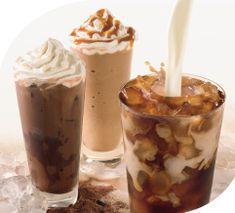 multi coffee drinks